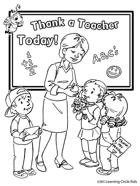 teacher appreciation week coloring pages coloring home