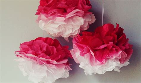 How To Make Ombre Paper - icing designs diy ombre tissue paper poms