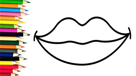 coloring pages of colored lips lips coloring pages ebcs ce2eae2d70e3