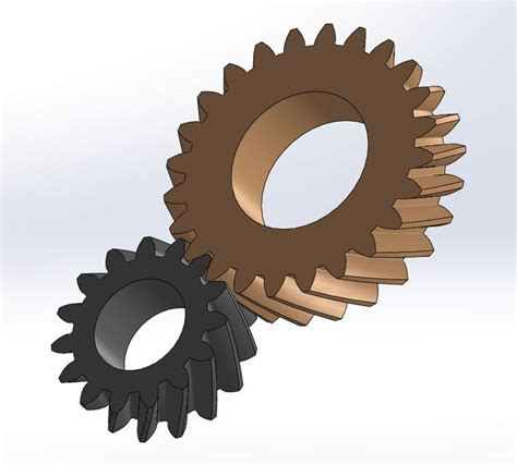 solidworks tutorial helical gear helical gear design solidworks 3d cad model grabcad