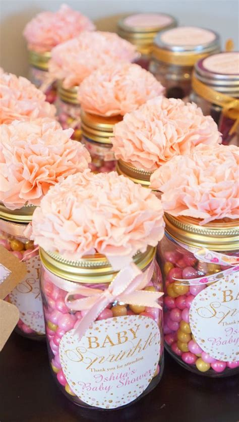 Baby Shower Favors Jars 50 brilliant yet cheap diy baby shower favors