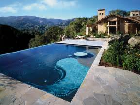 Infinity Edge Pool Cover Any Type Of Pool Cover Pools