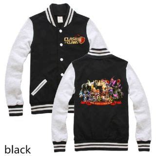 Jaket Zipper Clash Of Clans Supercell clash of clans jackets and baseball on
