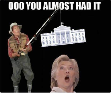 You Gotta Be Quicker Than That Meme - ooh hillary you almost had it you gotta be quicker than