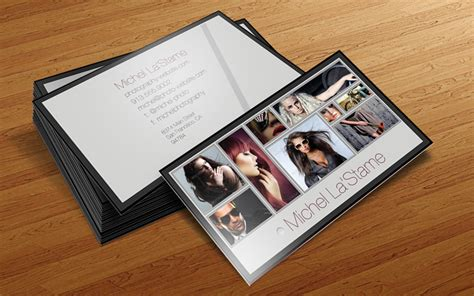 free photography business card templates free photographer business card photoshop template v1