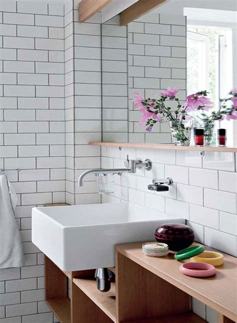 bathroom white brick tiles 27 best images about brick effect tiles on pinterest