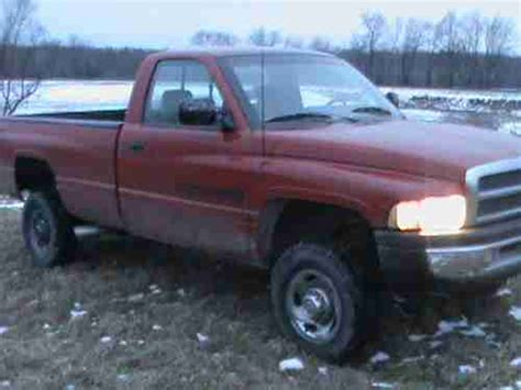 manual cars for sale 1995 dodge ram 2500 club user handbook find used 1995 dodge ram 2500 standard cab pickup 2 door 5 9l 4x4 5 speed manual in kinsman