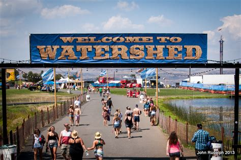 Water Shed Tickets by Watershed Festival Tour Dates 2016 2017 Concert Images