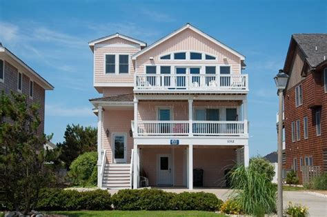 Ashley S Pink House Nags Head Rentals Village Realty House In Nags Nc