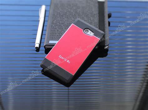 Motomo Metal Sony Experia M2 motomo sony xperia m2 kırmızı silikon kılıf 220 cretsiz kargo