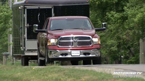 towing with the 2016 ram 1500 ecodiesel
