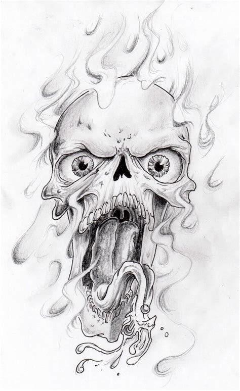 skull and smoke tattoo designs horror skull design skulls and smoke designs