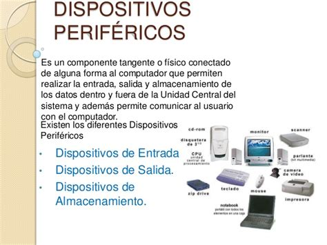 qu es un dispositivo 8433963791 dispositivos perifericos
