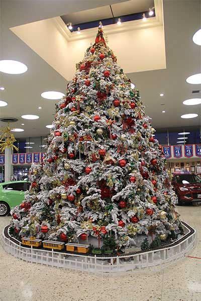 christmas trees at galpin motors