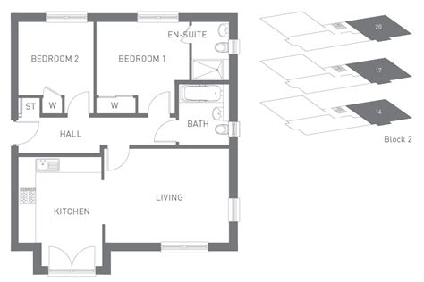 1 bedroom hall kitchen plan house styles