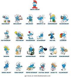 smurf names viewing gallery