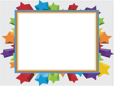8 best images of photo frame templates free powerpoint