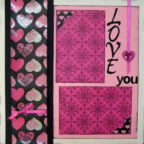 scrapbook layout valentine scrapbooking pages love valentines wedding 12x12 layout kit