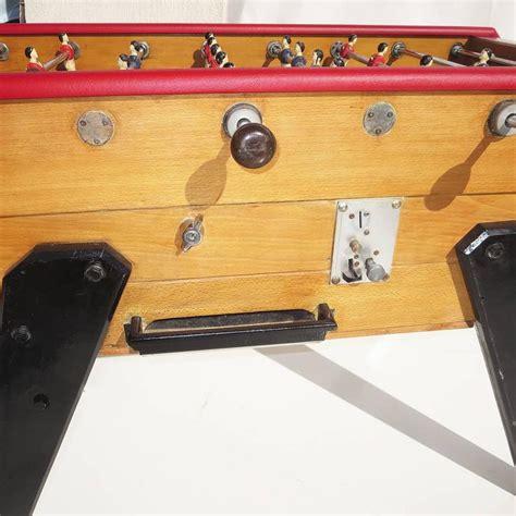 rene foosball table mid century foosball table by rene at 1stdibs