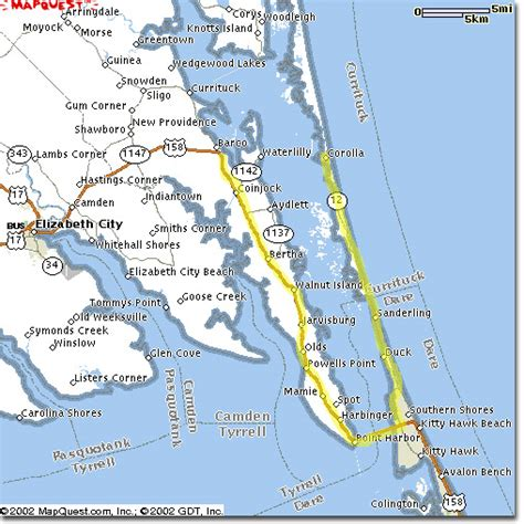 map of outer banks nc outer banks map the outer banks carolina maps the html autos weblog