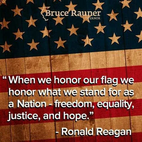 what are the colors of our flag honor our flag white and blue