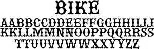 bike classic motorcycle gang font cosas comprar fonts