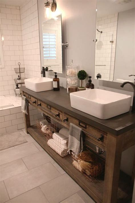 bathroom basin ideas 34 rustic bathroom vanities and cabinets for a cozy touch