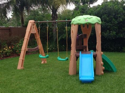 little tikes clubhouse swing set reviews 1000 ideas about little tikes playhouse on pinterest