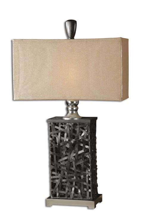 Uttermost Lighting Company Uttermost Alita Black Table L 27922 1