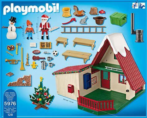 maison du pere noel playmobil playmobil le nouveau coffret 171 la maison du p 232 re no 235 l