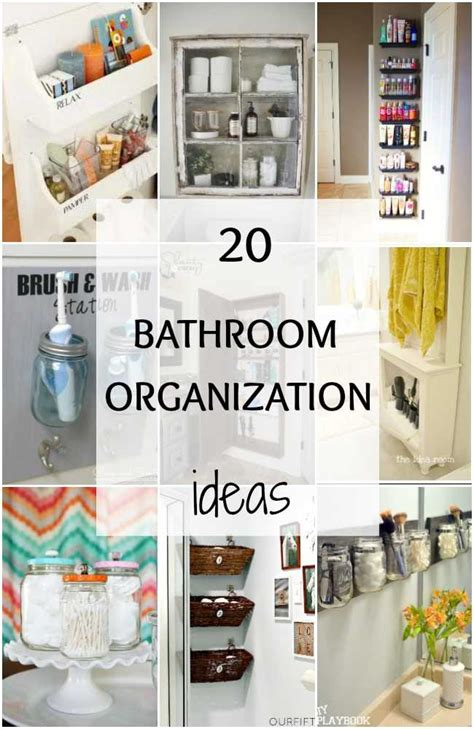 bathroom counter organization ideas bathroom organization ideas hacks 20 tips to do now