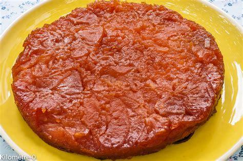 cuisines et vins de recettes tatin aux pommes l 233 g 232 re sans p 226 te par kilometre 0