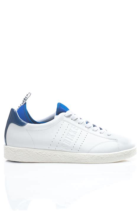bikkembergs sneakers bikkembergs sneakers with laces in white for lyst