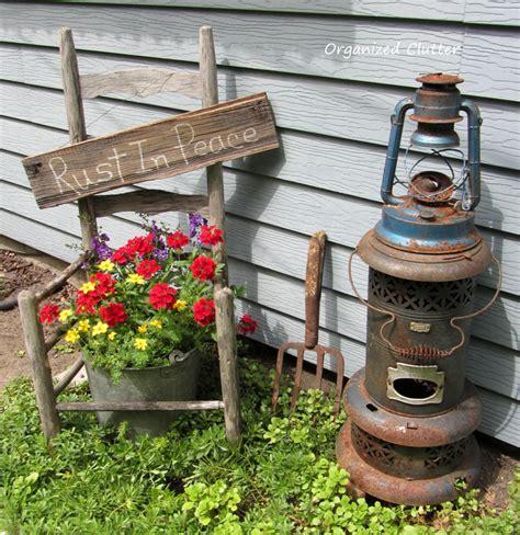garden junk organized clutter garden junk doesn t last forever
