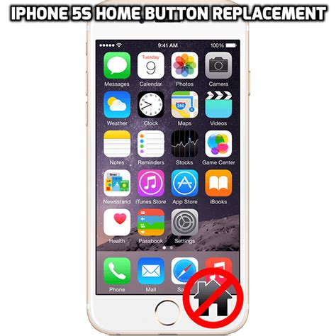 iphone 4s power button or iphone 5s home button repair in
