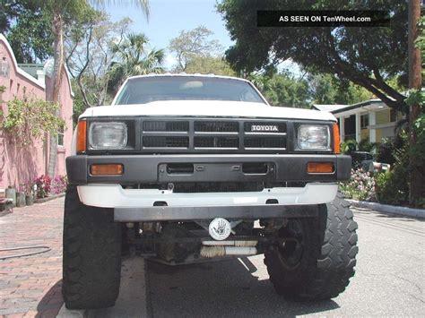 1984 Toyota 4x4 1984 84 Toyota 4x4 Truck Sr5 Bed Trd Motor Pkg The