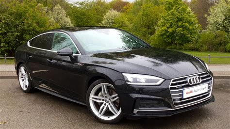 Audi Sline by Used 2017 Audi A5 Sportback S Line 2 0 Tdi Quattro 190 Ps