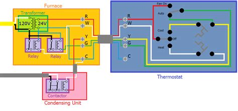 thermostat wiring diagram blue wire thermostat wiring