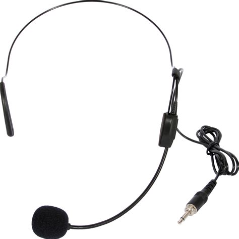 Headset Microphone galaxy audio hs13 ubk ecd vsc ves wireless cardioid condenser headset microphone gal13 hs13 ubk