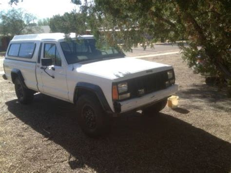 4 Door Jeep Comanche Sell Used 1988 Jeep Comanche Pioneer Standard Cab 2