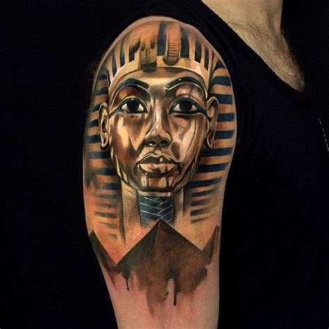 egyptian king tattoo king tut pyramid www pixshark images