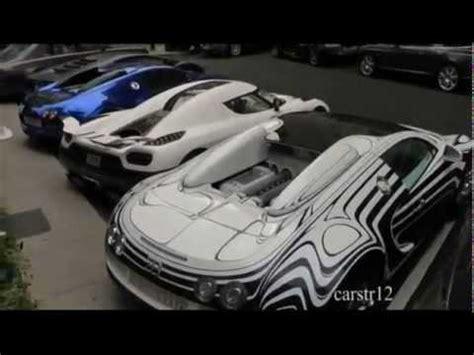 koenigsegg mansory 163 6m supercar carpark 2 bugatti veyrons koenigsegg agera