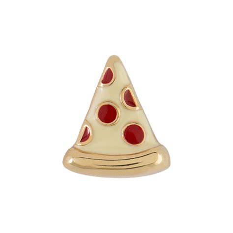 Origami Pizza - origami owl custom jewelry