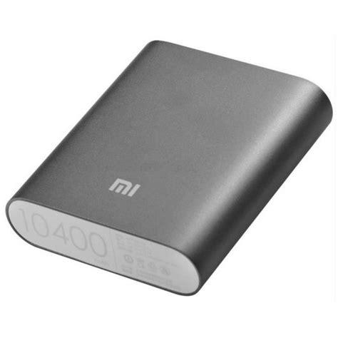 Power Bank Xiaomi 10400 Palsu Xiaomi Powerbank Negra 10400 Mah