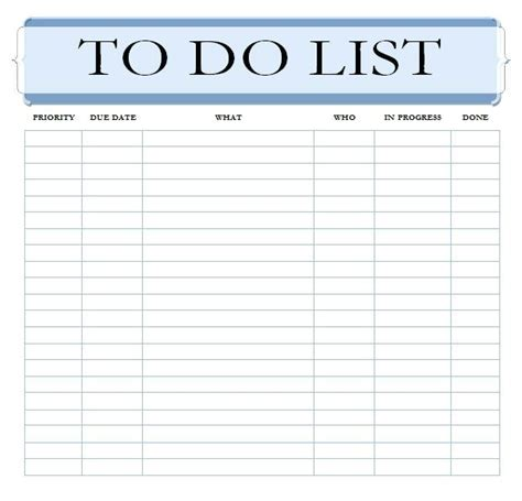 daily work to do list template free printable daily to do list template daily to do list