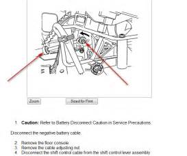 2006 chevy aveo shift lock release park it goes forward