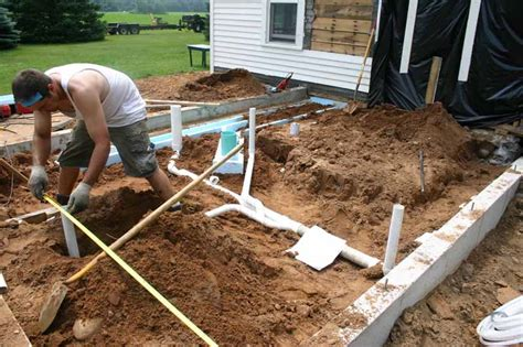 Adding Plumbing To Slab Foundation by Erickson Brewer Addition Gimme Shelter Construction