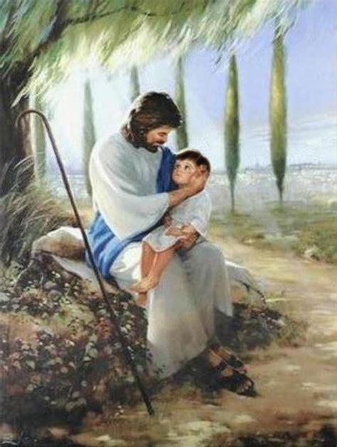 imagenes de jesus con un bebe en brazos historias b 237 blicas para ni 241 os 16