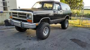 Tires For Sale On Craigslist Knoxville Tennessee 1987 Dodge Ramcharger 318 For Sale In Knoxville Tn