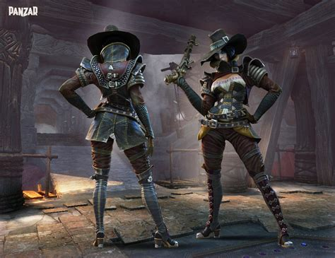 witch buster panzar witch costums